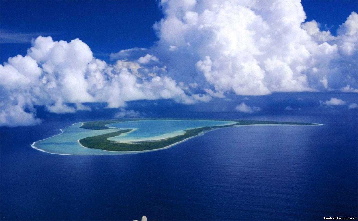 Остров Мьянма - один из заброшенных, островов тихого океана. Коренное